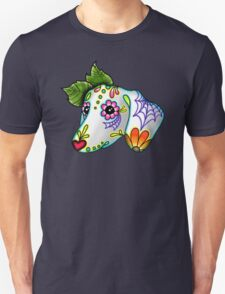 Day of the Dead Dachshund Sugar Skull Dog T-Shirt