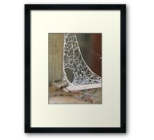 All in a days work Framed Print