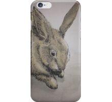 Cute Rabbit Water Colour iPhone Case/Skin