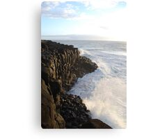 First Light on Giant's Causeway Canvas Print