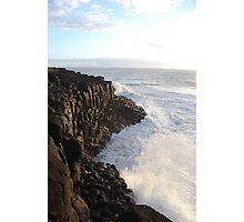 First Light on Giant's Causeway Photographic Print