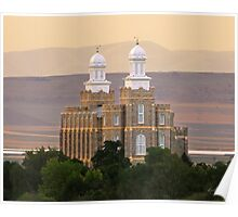 Logan Temple at Dusk 20x24 Poster