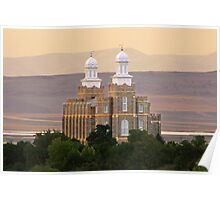 Logan Temple at Dusk 20x30 Poster