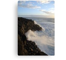 The Mighty Sea Canvas Print