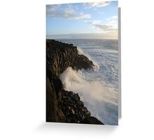 The Mighty Sea Greeting Card