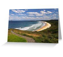 Woolgoolga Back Beach - NSW Greeting Card