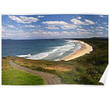 Woolgoolga Back Beach - NSW Poster
