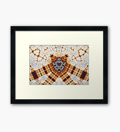 Artifacts in the Network Framed Print