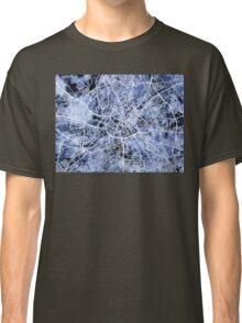 Manchester England Street Map Classic T-Shirt