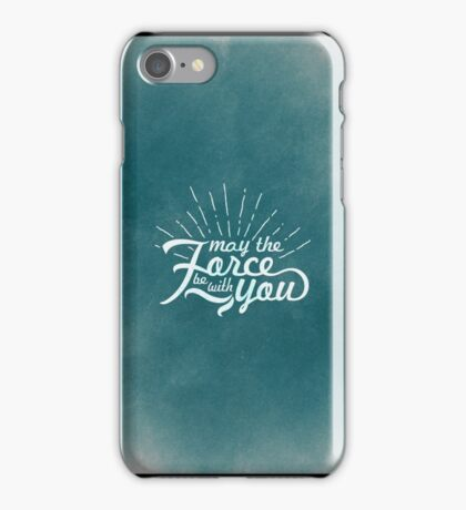 May the Force be with you (9) iPhone Case/Skin