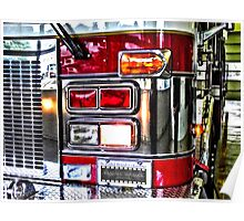 Fire Engine Poster