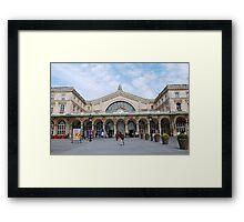 Gare De L'Est, Paris Framed Print
