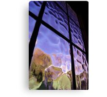rippled reality Canvas Print