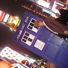 TARDIS in Times Square by Lexavian