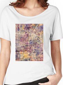 Las Vegas City Street Map Women's Relaxed Fit T-Shirt