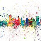 Memphis Tennessee Skyline by Michael Tompsett