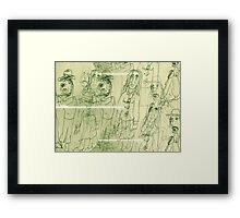 All The Lonely People: Eleanor Rigby Framed Print