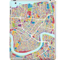 New Orleans Street Map iPad Case/Skin