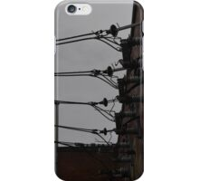 Telephone Wires Photography iPhone Case/Skin