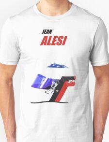 Jean Alesi Helmet F1 T-Shirt
