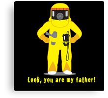 Look, you are my father! Canvas Print
