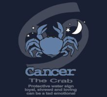 Cancer the Crab T by Sarah Trett