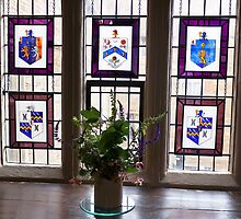 Canons Ashby House Staircase Tower Window by James  Key