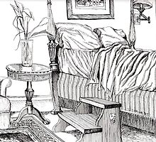 Early morning at the Inn by Sally Sargent