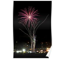 Firework flower Poster