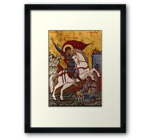 Saint George and the Dragon 1 Framed Print