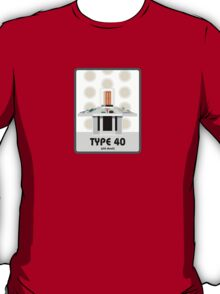 Type 40 (old skool) T-Shirt