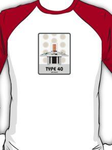 Type 40 (old skool) T-Shirt