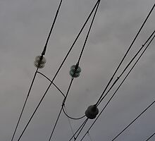 Railway Wires Photography by EmLosin