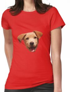 Adorable Puppy One Womens Fitted T-Shirt
