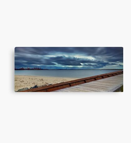 Path to the Storm - Botany Bay NSW Canvas Print