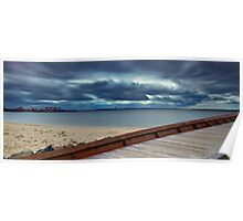 Path to the Storm - Botany Bay NSW Poster