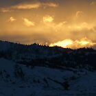 Sunset Over Horse Lake Mountain by XiNC