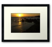 Ripples Framed Print