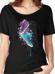 Colorful sneakers Women's Relaxed Fit T-Shirt