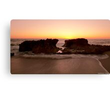 Sunset At Lucy's WA Canvas Print