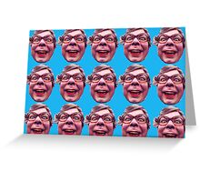 The League of Gentlemen Tubbs Face Local Shop Greeting Card