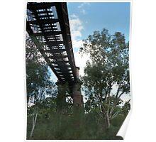 Classic Cowra Rail Bridge Poster