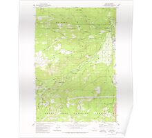 USGS Topo Map Oregon Dee 279592 1979 24000 Poster