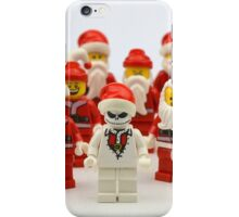 "Santa Showdown ""There Can Be Only One"" iPhone Case/Skin"
