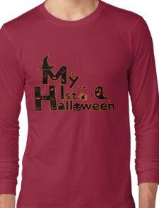 My first Halloween Long Sleeve T-Shirt