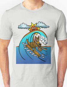 Surfing Kangaroo Mum T-Shirt