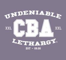 CBA-University (for dark shirts) Kids Clothes