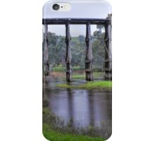 Trestle bridge - Pyalong iPhone Case/Skin