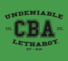 CBA-University (for light shirts & sticker)  Kids Clothes