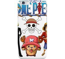 one piece 1 iPhone Case/Skin